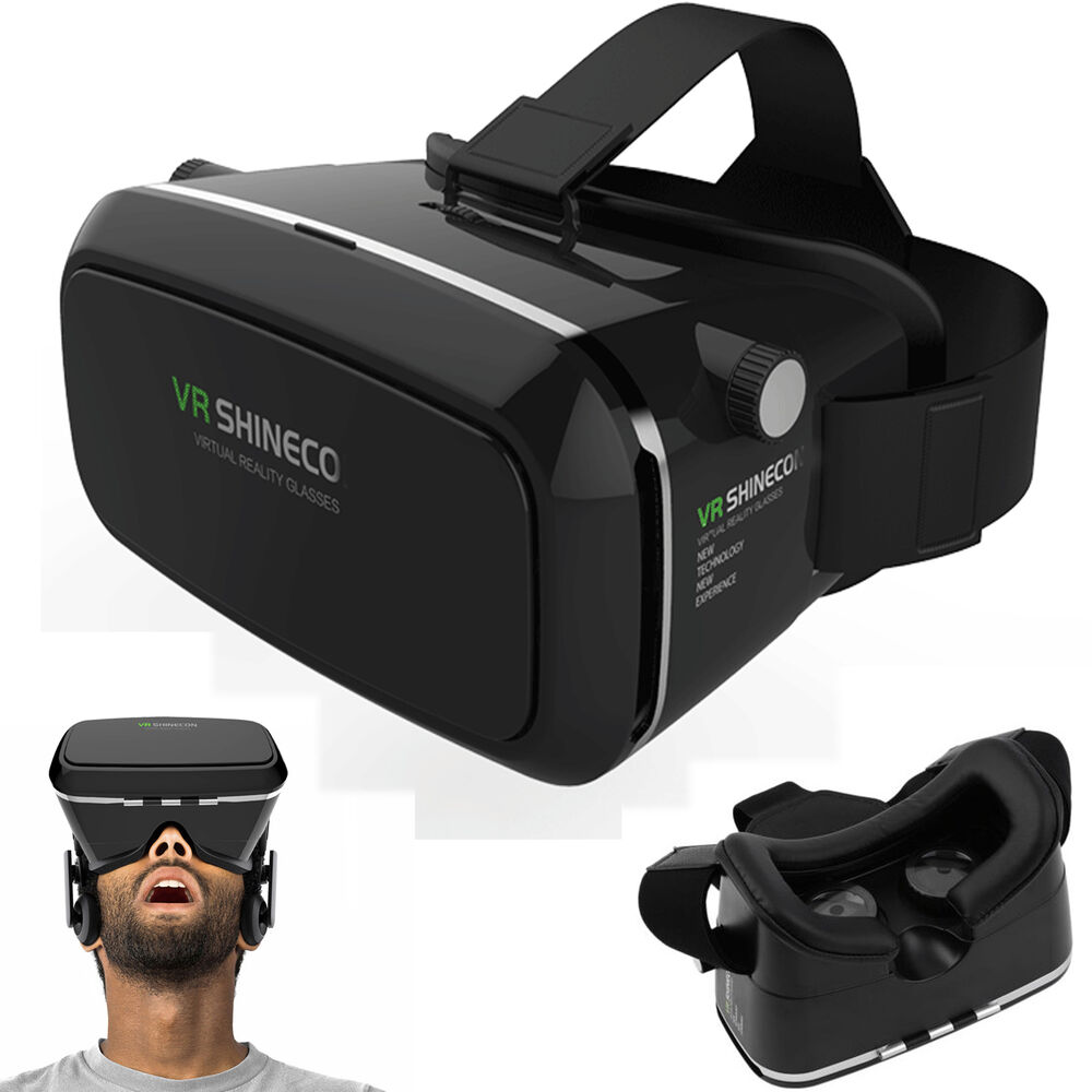 Movies Video Virtual Reality 3D VR Glasses For Samsung ...