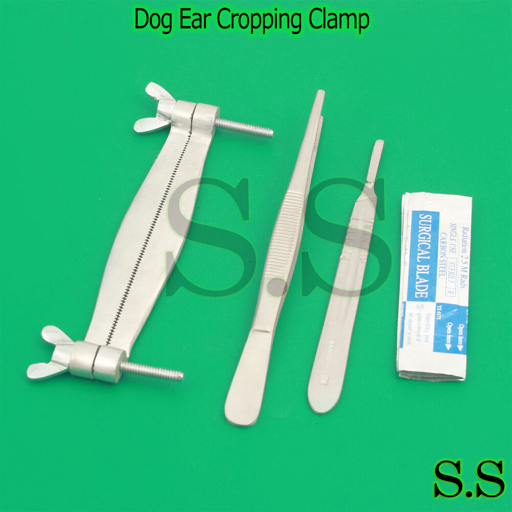 Dog Ear Cropping Tools