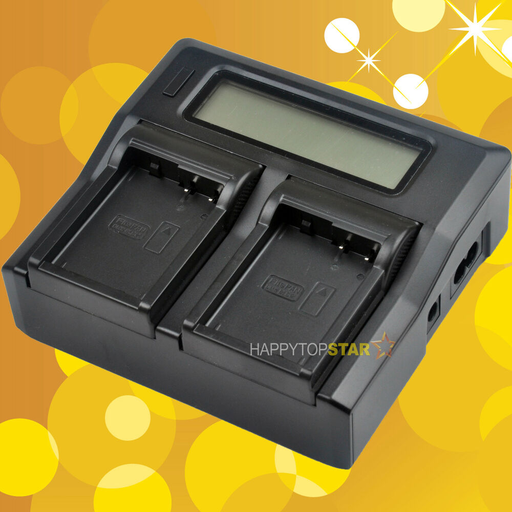 Fast Quick Dual Battery Charger For Panasonic Dmw Blc12 Dmc G5 De Lumix Blc12e Blc12pp Fz200 Gh2 G6 A79 Ebay