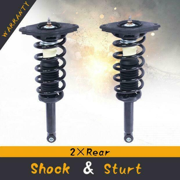 2000 Nissan Altima Suspension: New Rear Pair Complete Struts & Coil Springs Assembly For