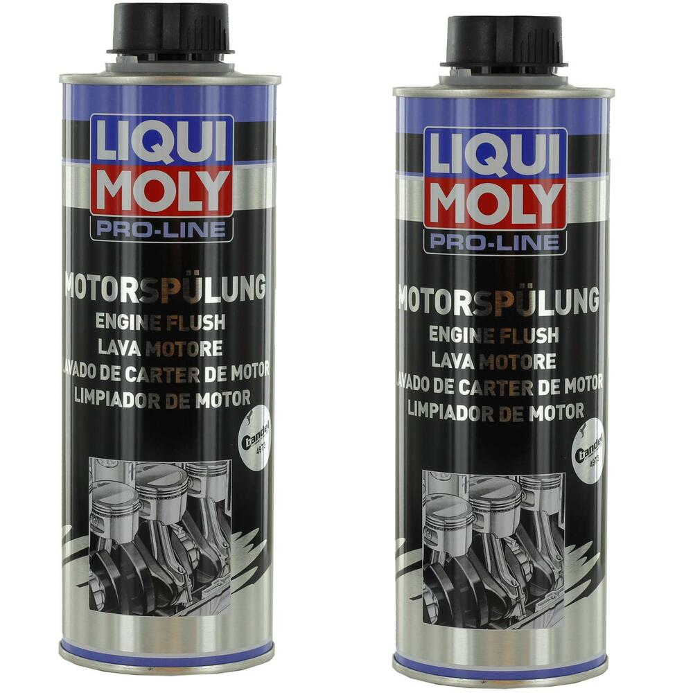 19 90 l 2x500ml liqui moly pro line motorsp lung. Black Bedroom Furniture Sets. Home Design Ideas