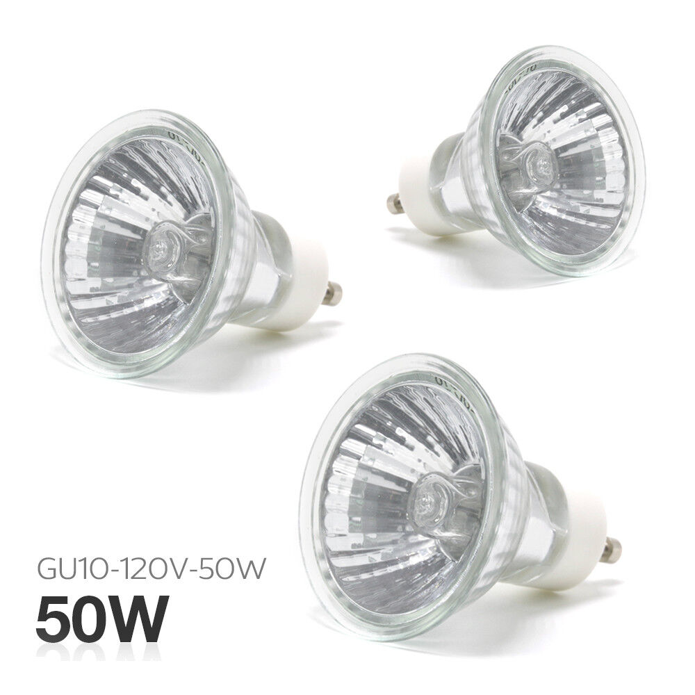 3 Bulbs 50w Jdr C Mr 16 Gu10 C 120v Halogen Light Bulb Dimmable Us Ebay