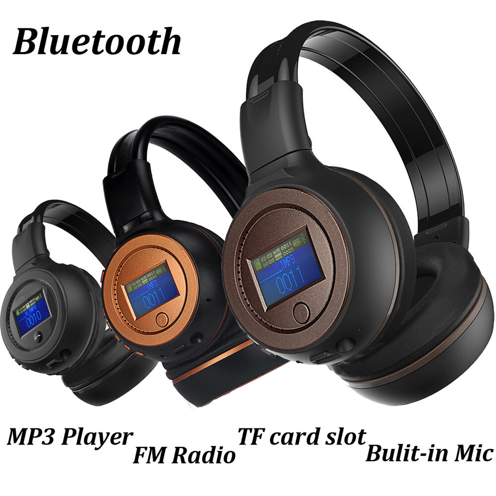 NEW 3.0 Stereo Bluetooth Wireless Headset/Headphones With Call Mic/Microphone US