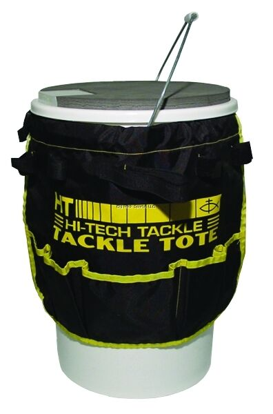 New ht iceman bucket tote 5 gal pail ice fishing ibt 5 ebay for Ice fishing bucket