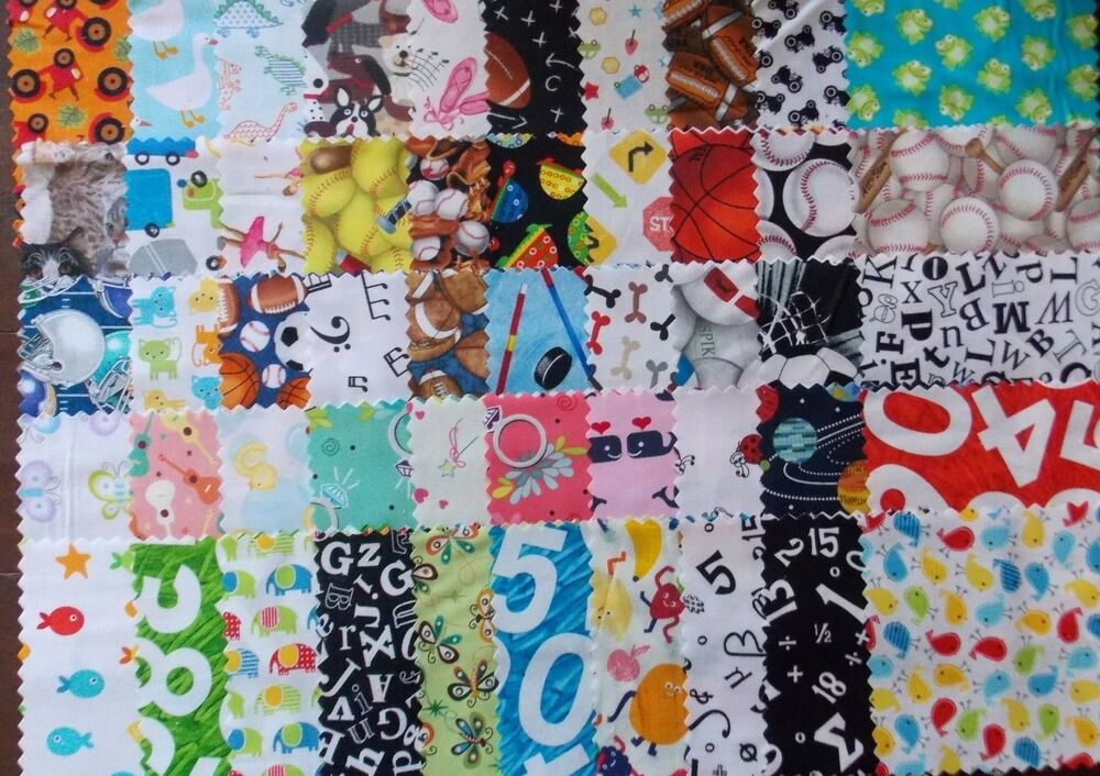 I spy 50 piece charm pack 5 squares quilt fabric premium for Childrens quilt fabric