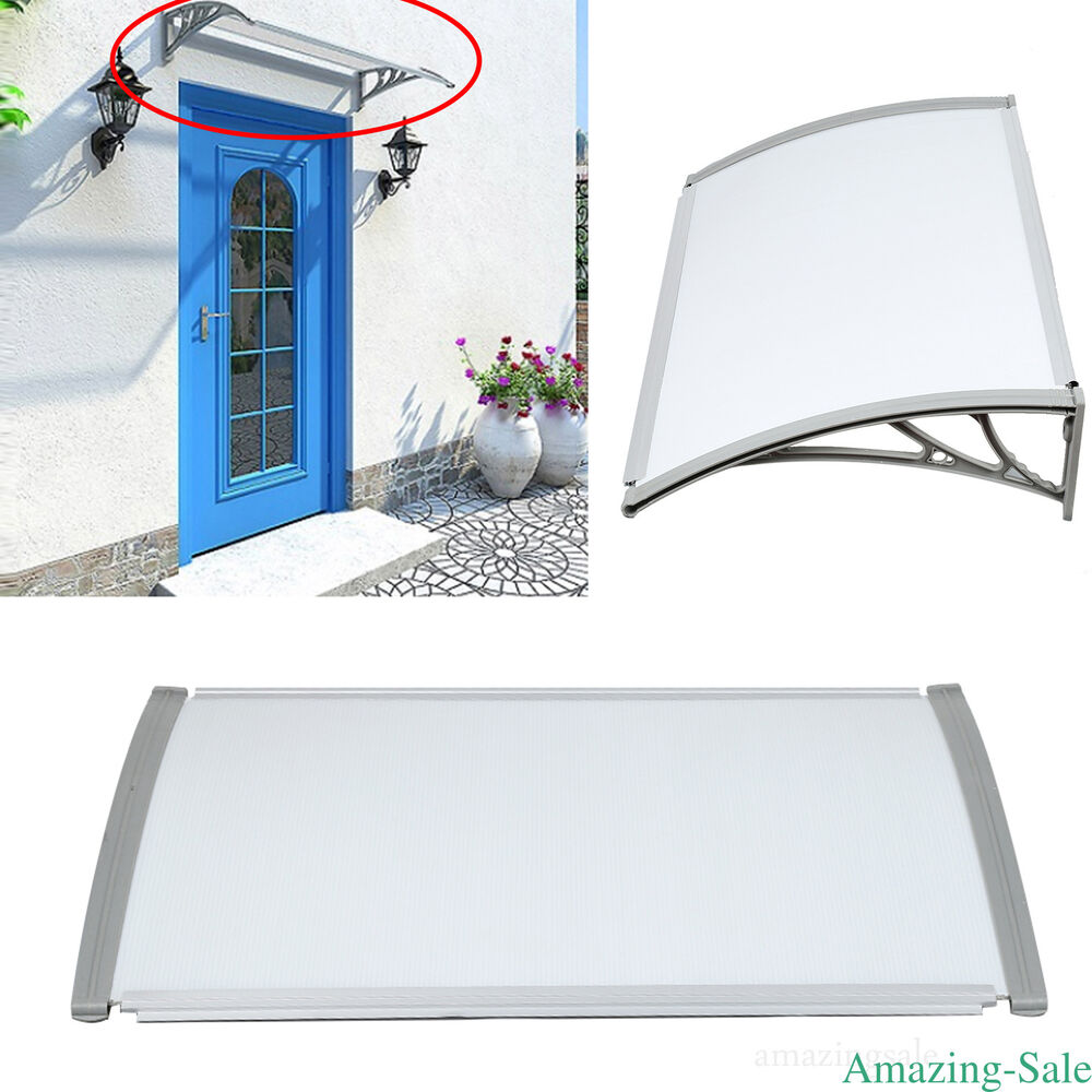 Diy Patio Door Installation: DIY Canopy Awning Outdoor Door Window Shade Sun Rain Snow