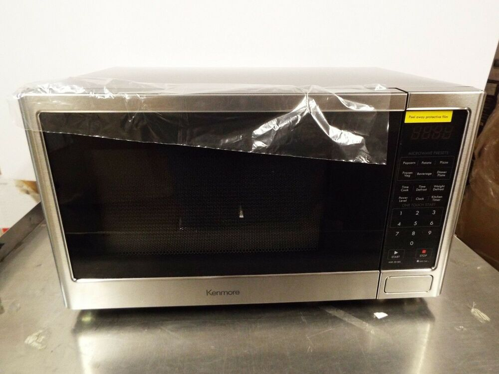 Kenmore P90d23ap Wjw 0 9 Cu Ft Microwave Oven Black