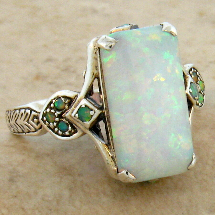 Victirian Style Opal Rings