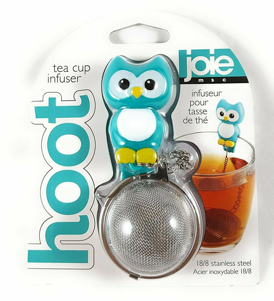 Joie Kitchen: Hoot Owl Stainless Steel Mesh Tea Ball Cup Infuser