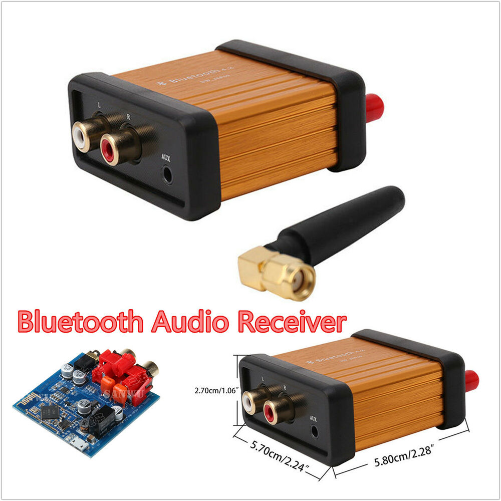 car bluetooth 4 2 audio receiver stereo hi fi box adapter