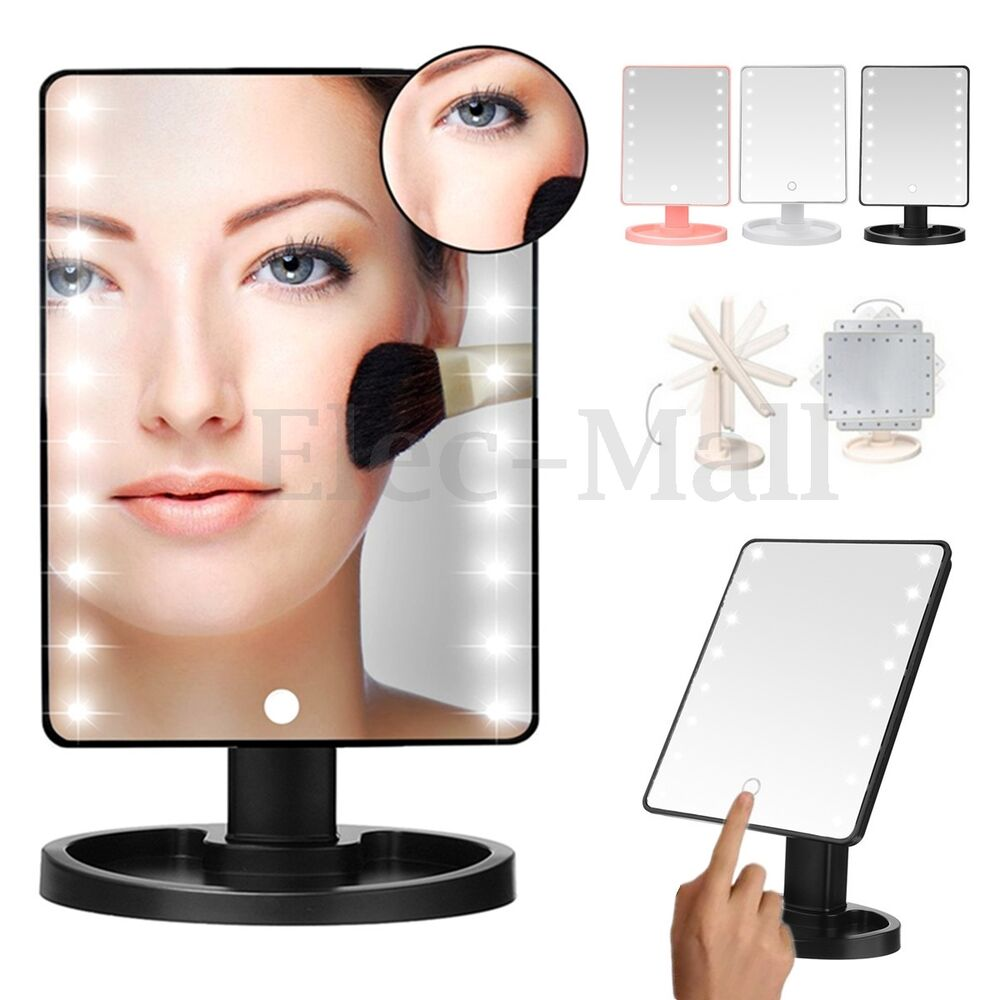 Make Up Vanity Illuminated 180 176 Desktop Table Makeup Stand