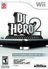 BRAND NEW ~ Nintendo Wii ~ DJ Hero 2 ~ Game Only - No Turntable or Accessories