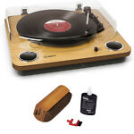 Ion Audio Max LP Belt Drive DJ Turntable With RCA Turntable Cleaning System