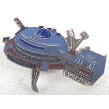 Gerry Anderson THUNDERBIRDS Model #5 - British TV Series UK Imported Enamel Pin