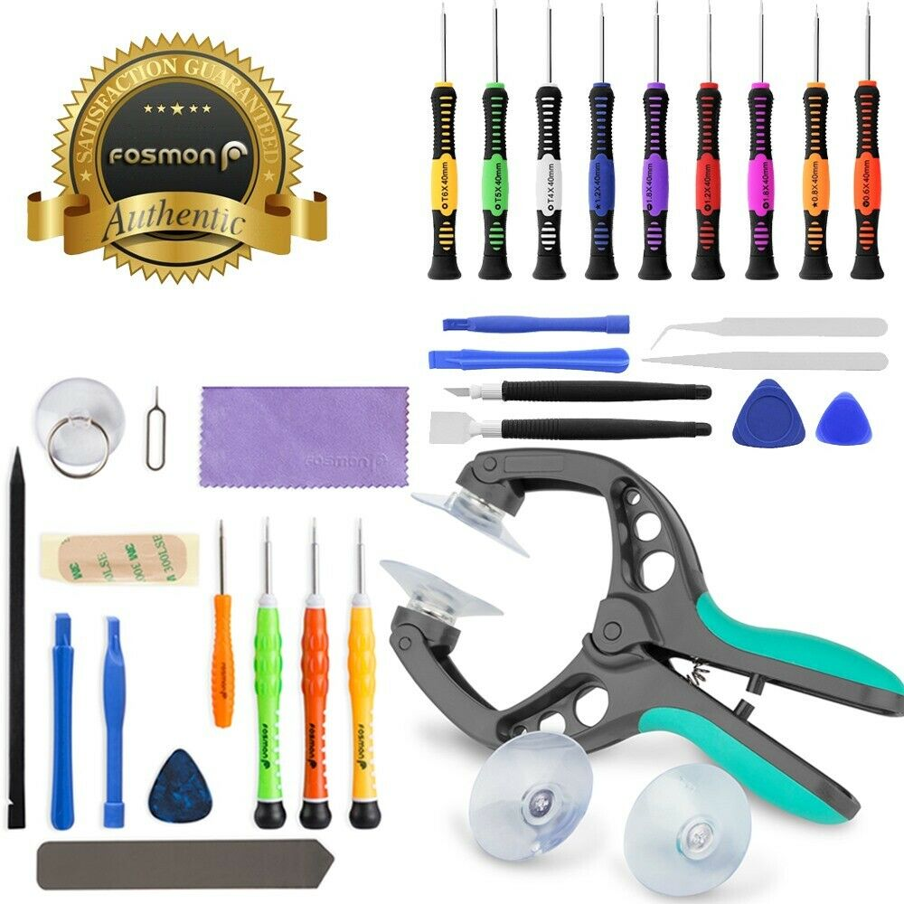 mobile cell phone screen opening repair tools kit screwdriver set for iphone 6 5 ebay. Black Bedroom Furniture Sets. Home Design Ideas