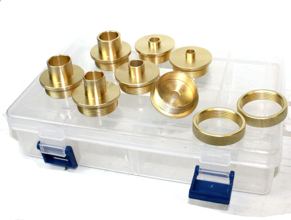 Shop Fox D3117 Brass Guide Bushing Set - Router Template ...