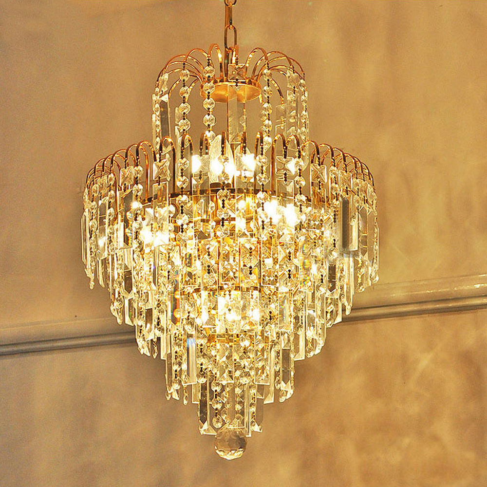 Modern glass crystal chandelier ceiling light pendant lighting lamp fixtures ebay - Chandelier ceiling lamp ...