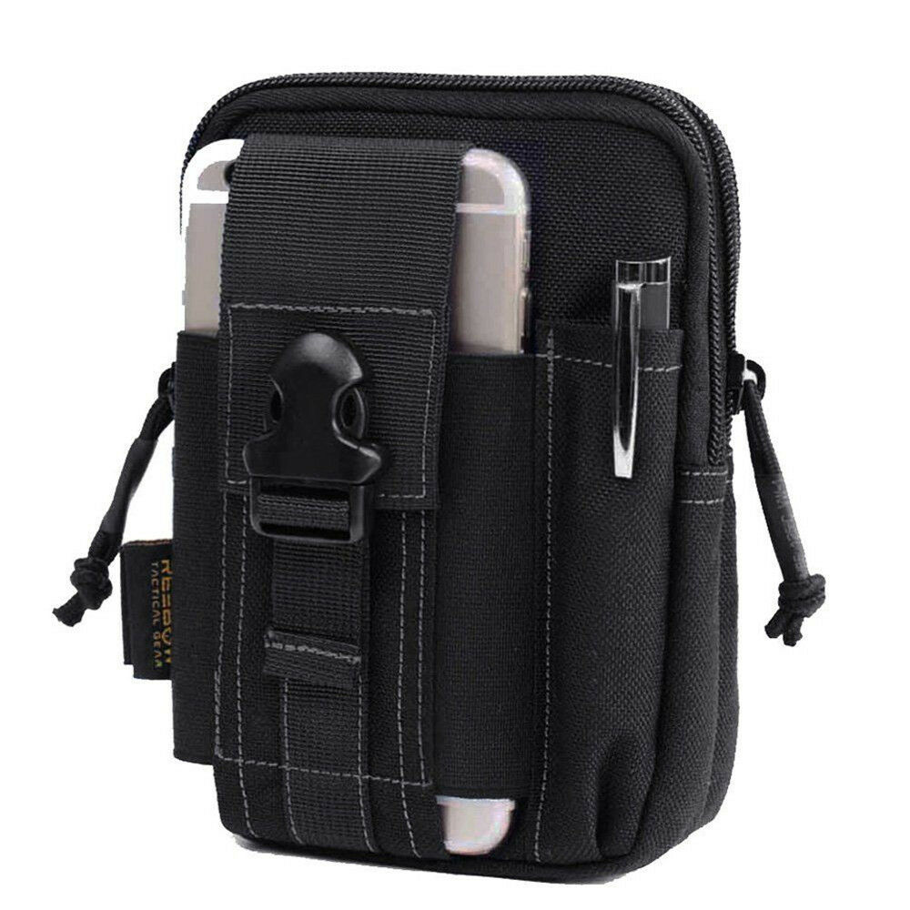 6 Tactical Molle Waist Pack Utility Fanny Phone Pouch Bag