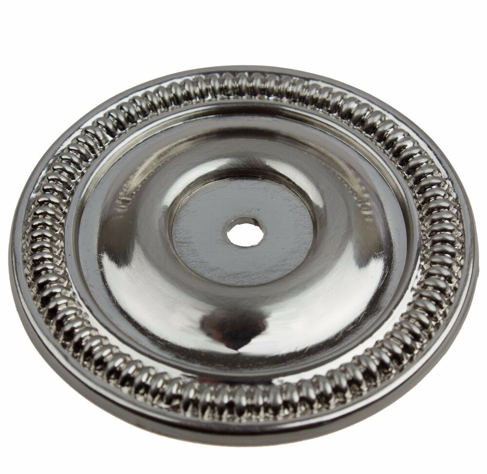 5060 Sn 2 1 2 Quot Round Ring Back Plate Cabinet Hardware