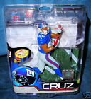 MCFARLANE 29 VICTOR CRUZ NEW YORK GIANTS BLUE JERSEY NFL FOOTBALL DEBUT FIGURE