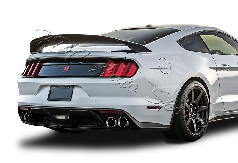 for ford mustang gt350 gt350r style painted black abs rear. Black Bedroom Furniture Sets. Home Design Ideas