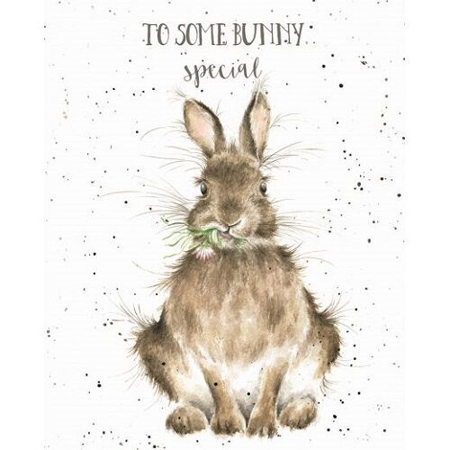 Details About Wrendale Designs Happy Birthday Greeting Card Rabbit Daisy Some Bunny Special