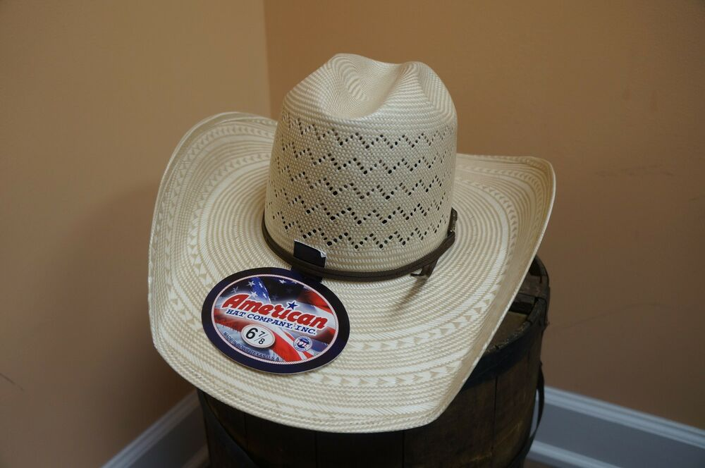 Details about UNISEX AMERICAN HAT COMPANY COWBOY HAT MINNICK CROWN HAT 6200  ALL SIZES 9f509dd64a9