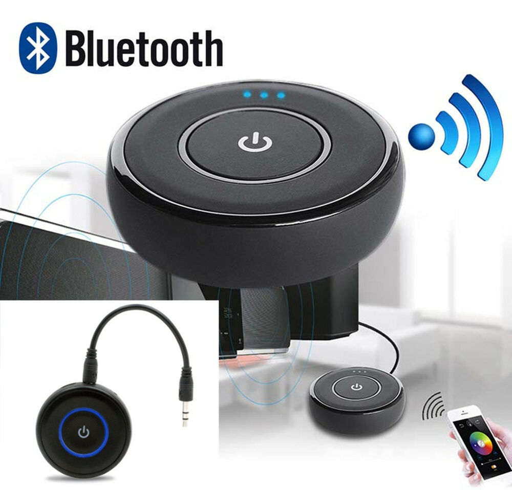 portable mini wireless bluetooth adapter aux audio. Black Bedroom Furniture Sets. Home Design Ideas