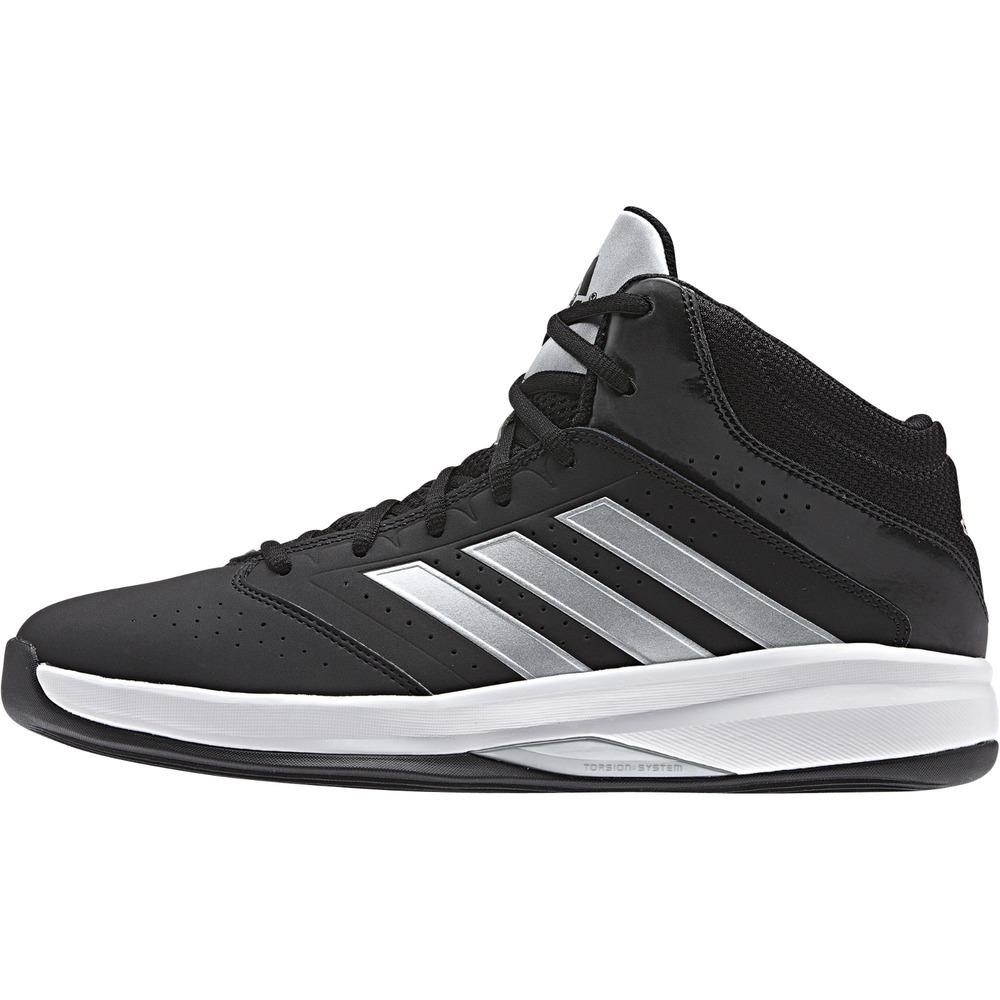 low priced 6c412 b7086 ... greece details about mens adidas isolation 2 mid basketball shoe black  silver size 7.5 rd715 943