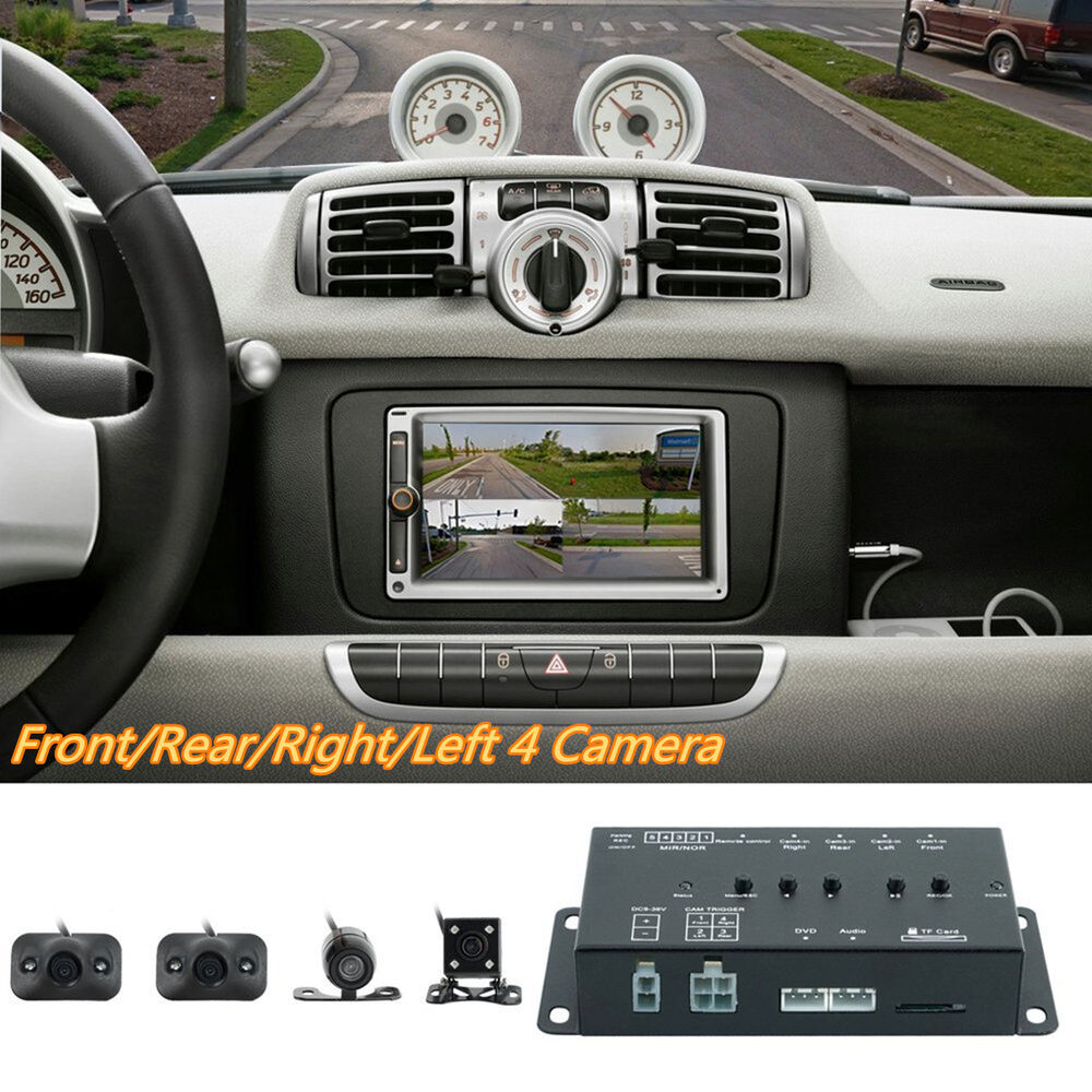 Car 360°Full Parking View Front/Rear/Left/Right DVR
