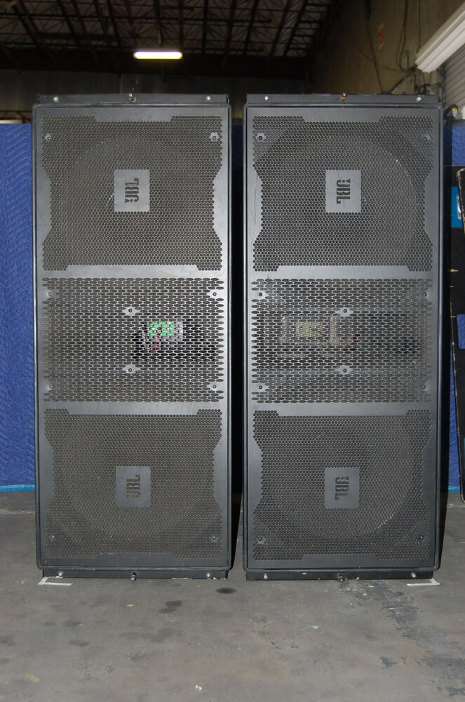 Jbl Outdoor Speakers >> JBL Vertec 4880 Sub Bass Line Array with covers and dolly ...