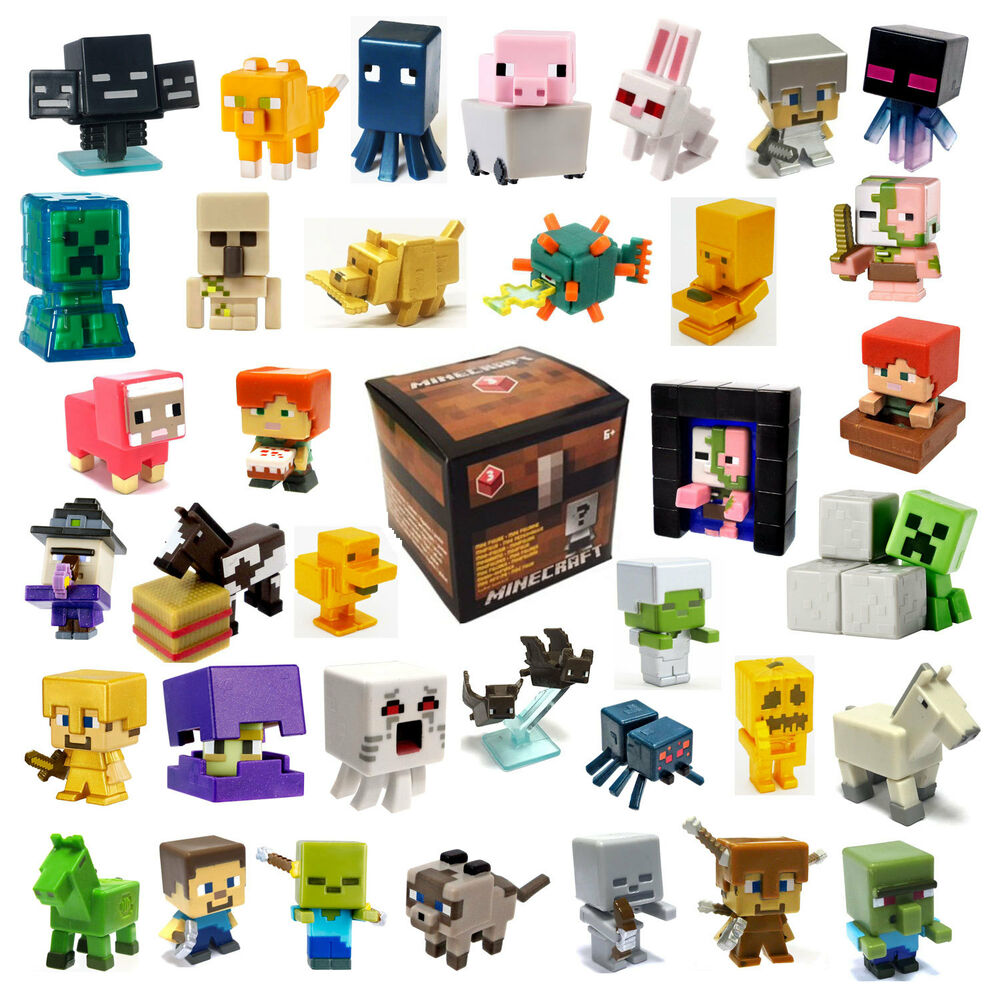 Minecraft Toys And Mini Figures For Kids : Minecraft single mini figures unlimited chest series