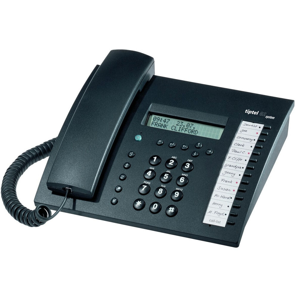 tiptel 82 system 192 isdn telefon auf f r 4011xt neu ovp ebay. Black Bedroom Furniture Sets. Home Design Ideas