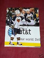 NATHAN OYSTRICK SIGNED 8X10 PHOTO ATLANTA THRASHERS COA