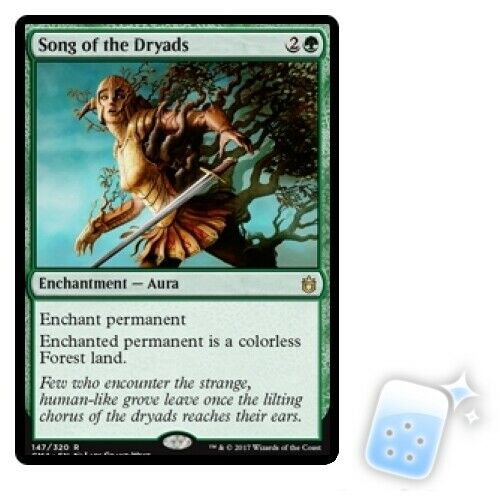 SONG OF THE DRYADS Commander Anthology Magic MTG MINT CARD