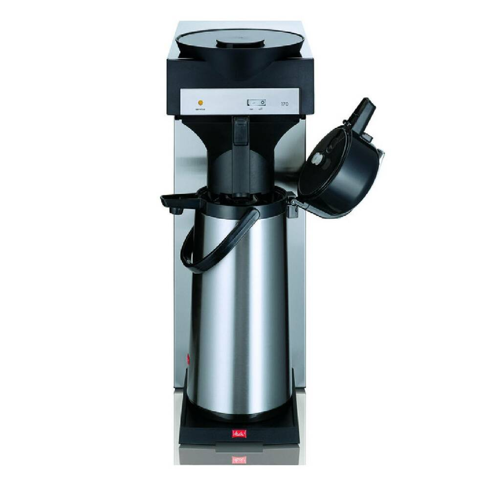 melitta filter kaffeemaschine m 170 mt inkl isolierkanne 2 2 liter ebay. Black Bedroom Furniture Sets. Home Design Ideas