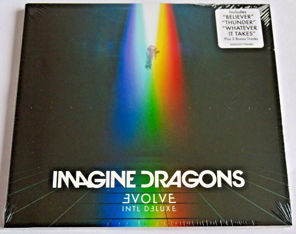 Imagine Dragons Evolve New Deluxe Cd Album With 3