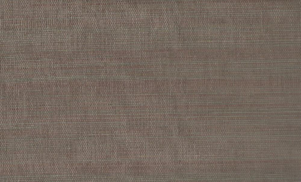 Wallpaper Designer Aqua Gray & Brown Sisal Grasscloth