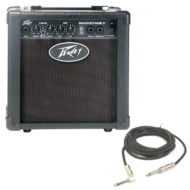 new peavey backstage trans tube 6 combo amp 10w guitar amplifier w 1 4 cable 14367135220 ebay. Black Bedroom Furniture Sets. Home Design Ideas