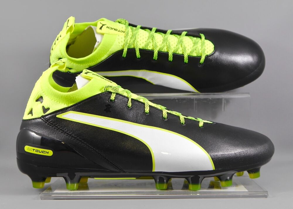 cc05daddc Details about Puma (103748-01) Evotouch Pro AG adults football boots - Black  Yellow