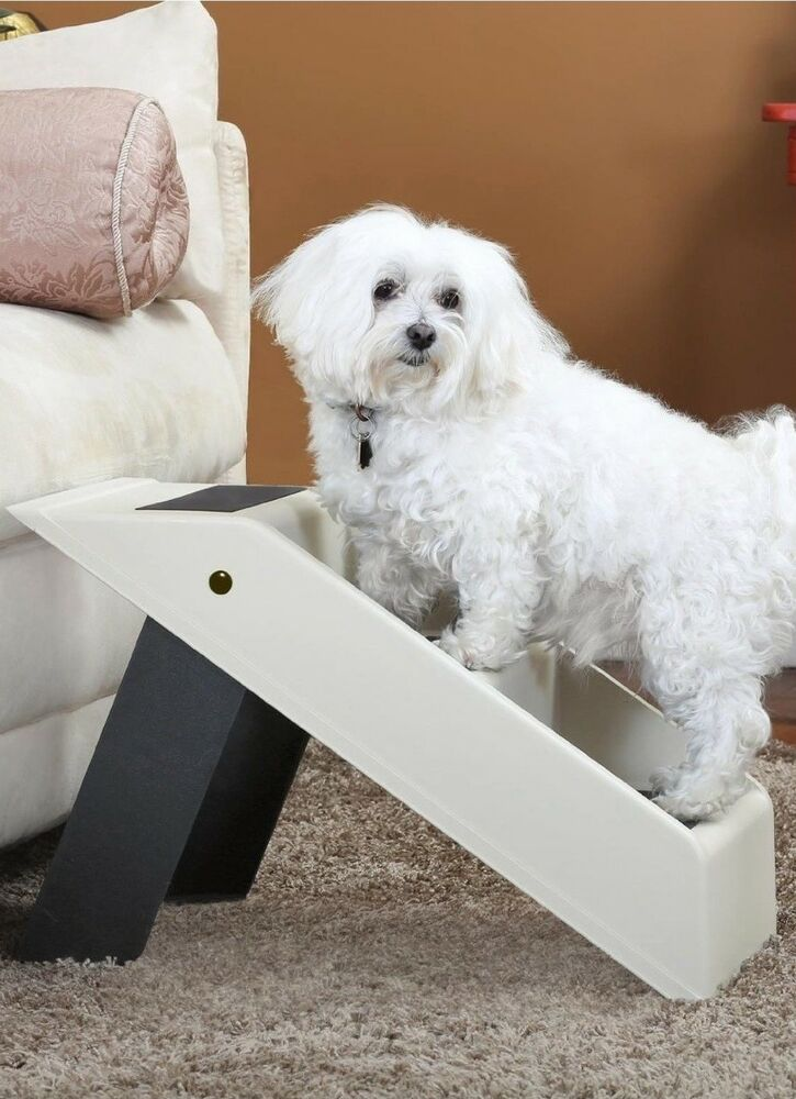 Folding Stairs For Dogs >> Folding Dog Stairs / Dog Steps – 3 Step Dog Ladder / Pet Stair | eBay