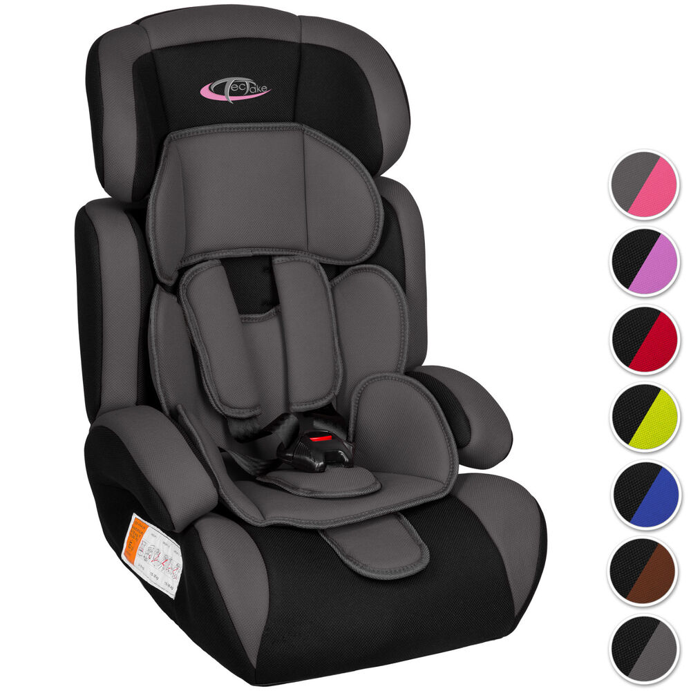 autokindersitz autositz kinderautositz mit extrapolster kids 9 36 kg 1 2 3 ece ebay. Black Bedroom Furniture Sets. Home Design Ideas