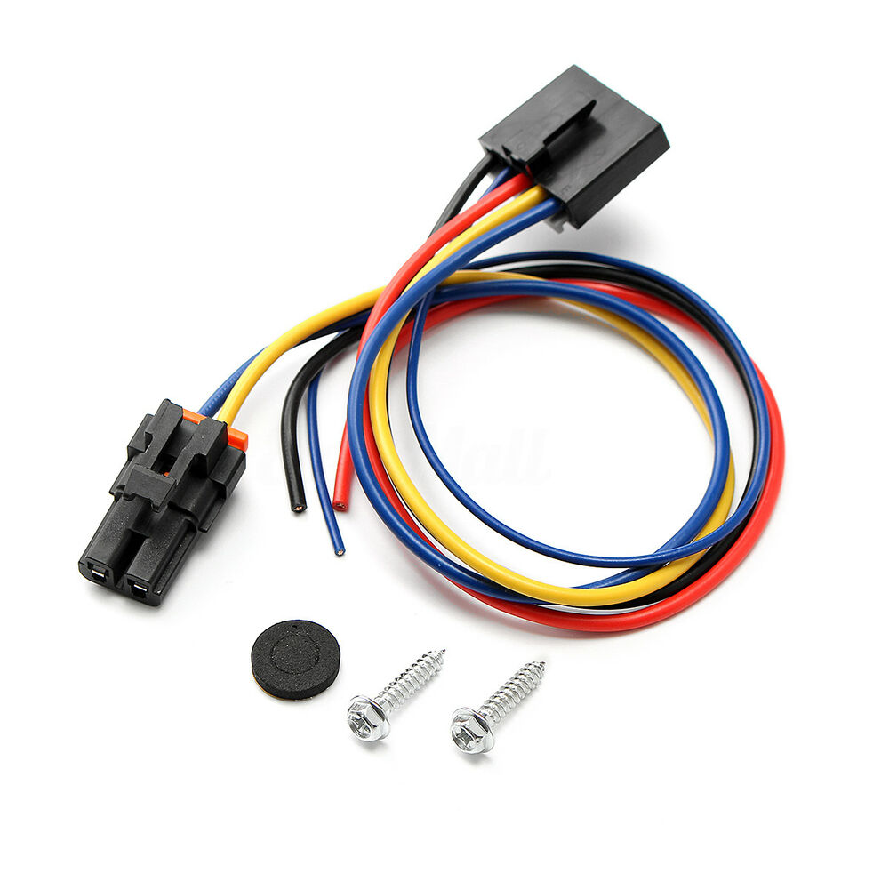 chevy blower motor wiring 5&2 wire pigtail blower motor resistor harness fits for ... 81 chevy blower motor wiring diagram #1