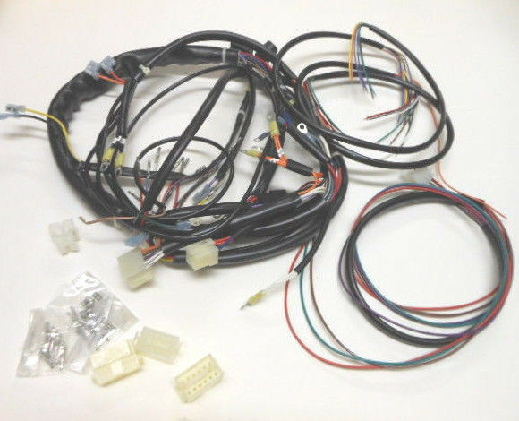 new 1991 harley xlh sportster complete wiring harness ebay. Black Bedroom Furniture Sets. Home Design Ideas