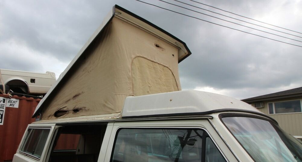 westfalia camper van pop top roof conversion 80 91 vw. Black Bedroom Furniture Sets. Home Design Ideas