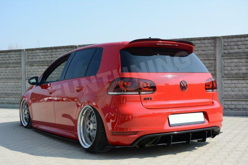 golf 6 vi gti heckspoiler dachspoiler r20 vw gtd r. Black Bedroom Furniture Sets. Home Design Ideas