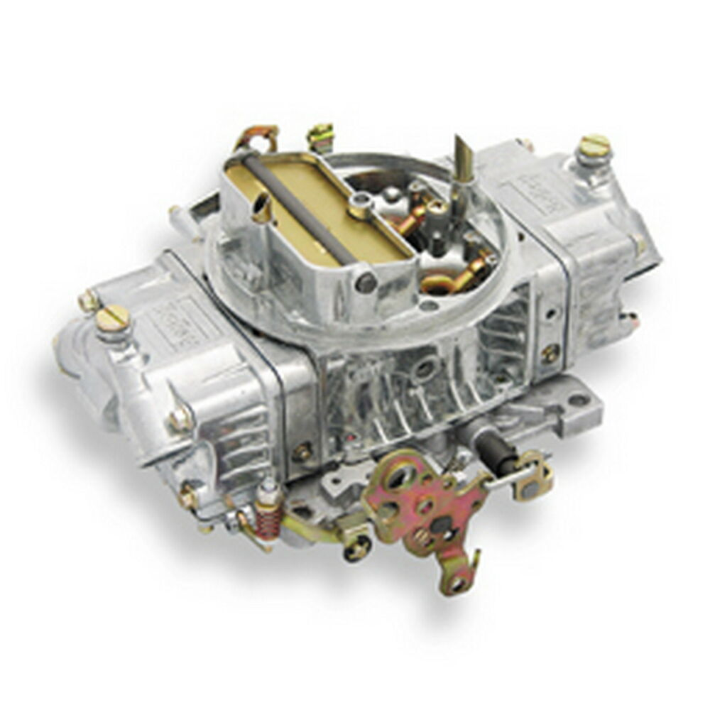 Holley 650 Double Pumper Carburetor Manual Choke Mechanical ...