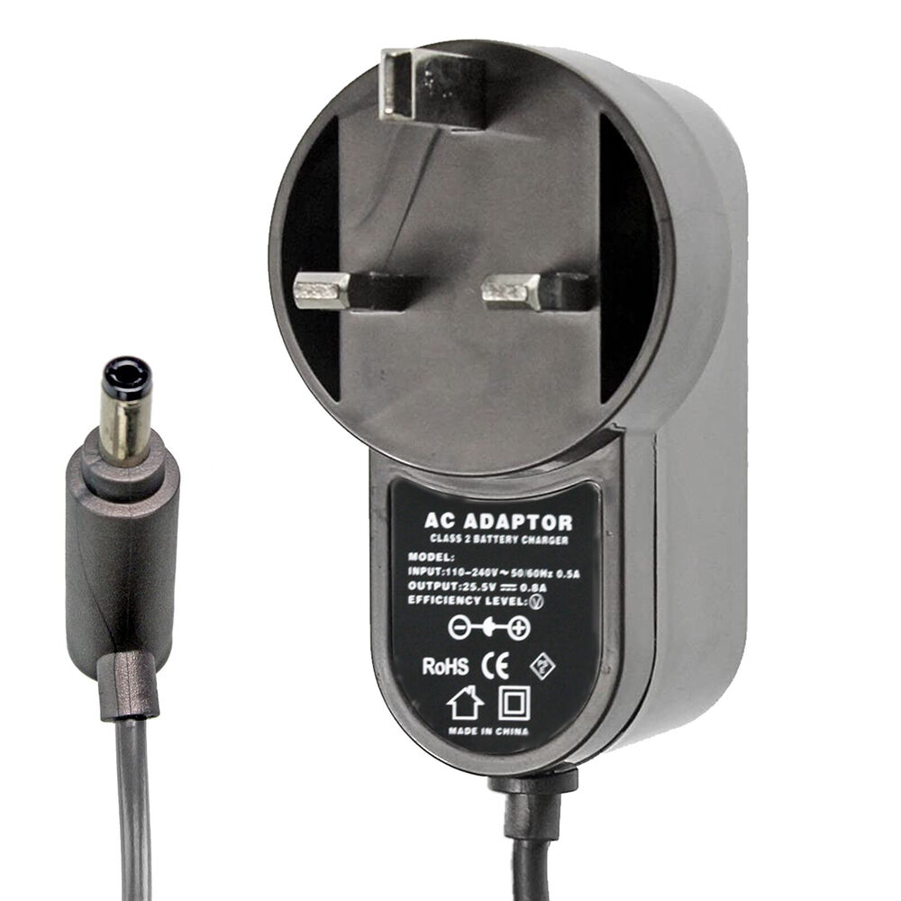 Battery Charger Power Cable Plug For Dyson V6 Absolute