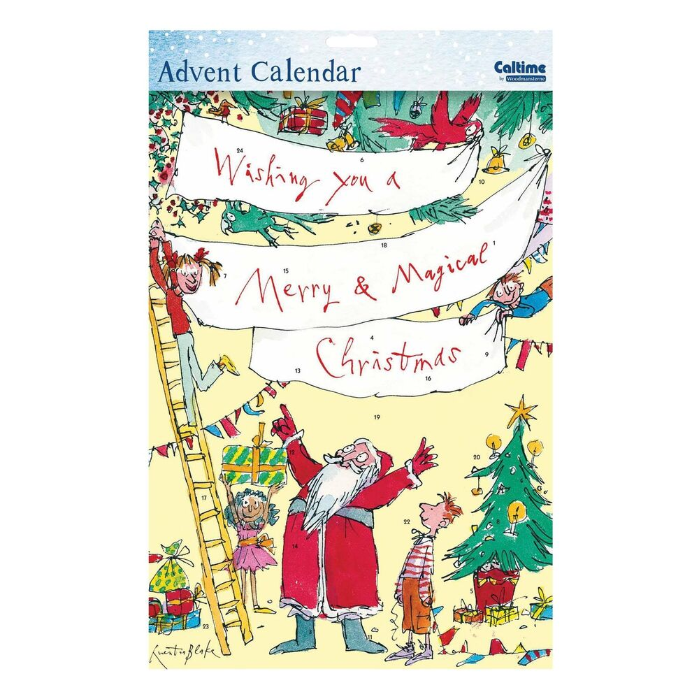 Caltime Character Paper Christmas Advent Calendar - 410994 Quentin ...