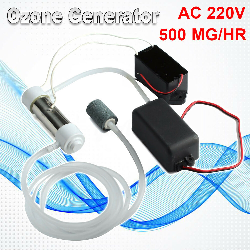 Diy Ozone Generator Kit Ac 220v 500mghr Intl Daftar Harga Barang 3g H Tube Circuit Board Air And Water For Ozonizer Plant Purifier 500mg Hr
